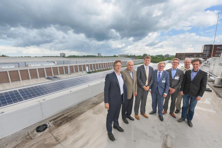 Coöperatief zonne-energieproject op dak MARIN 900px