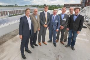 Coöperatief zonne-energieproject op dak MARIN uitsnede1